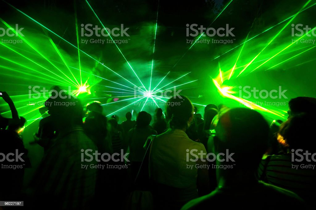 laser show royalty-free stock photo