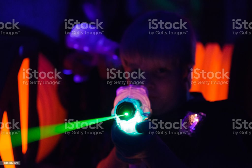 Laser Tag royalty-free stock photo