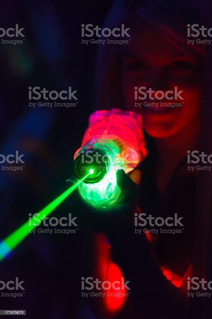 Laser Tag royalty-free stock photo