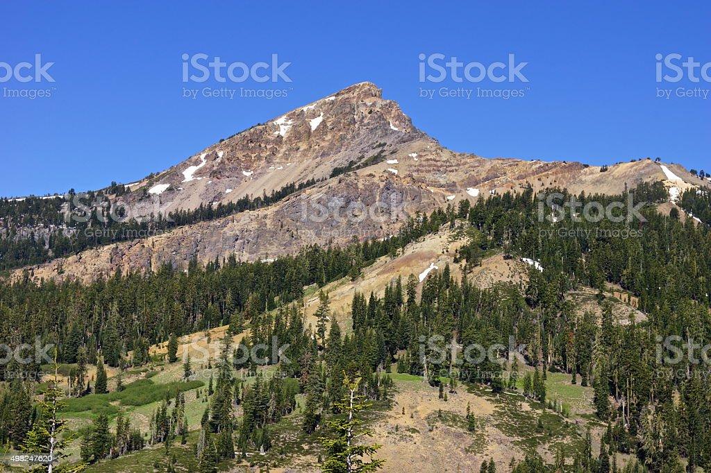 Lassen Park High Rock stock photo