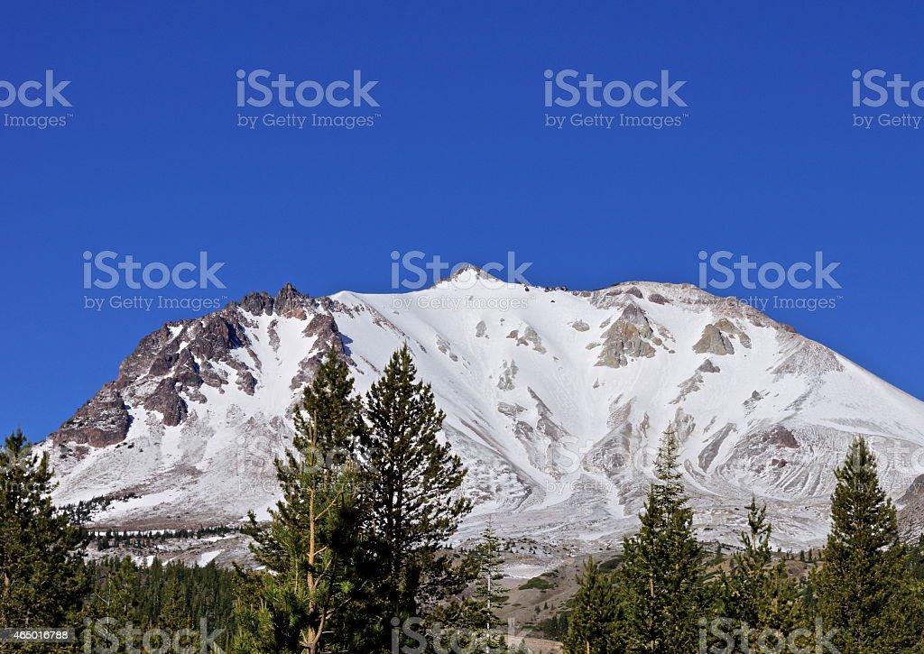 Lassen Peak Devastation stock photo