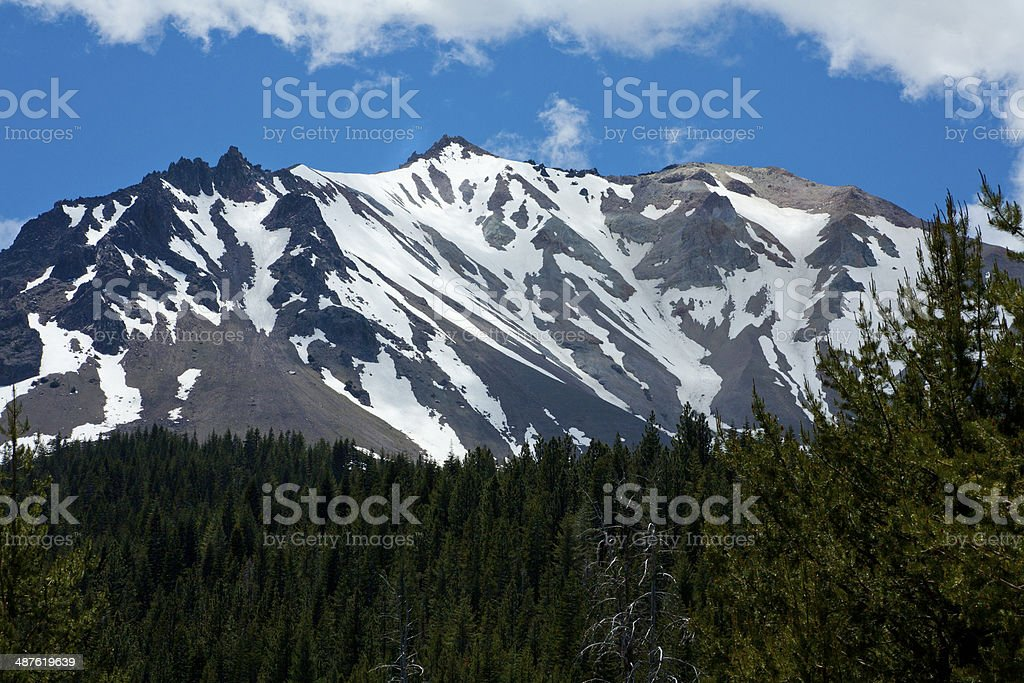Lassen Volcanic California State Park stock photo