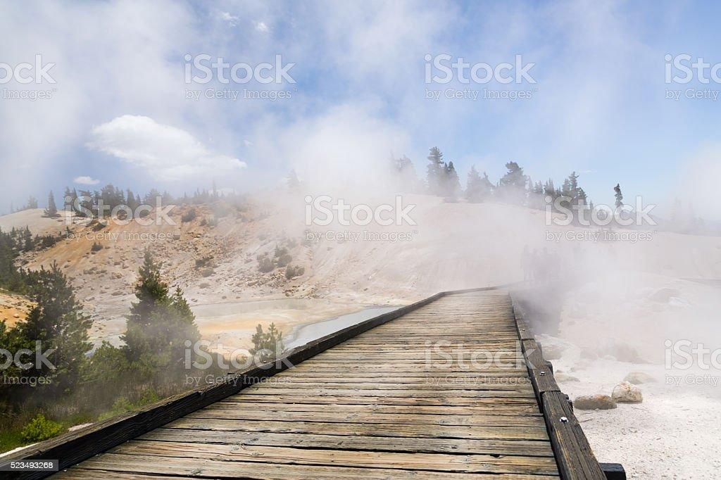 Lassen Volcanic National Park stock photo