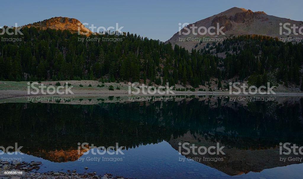 Lassen Volcanic Peaceful stock photo