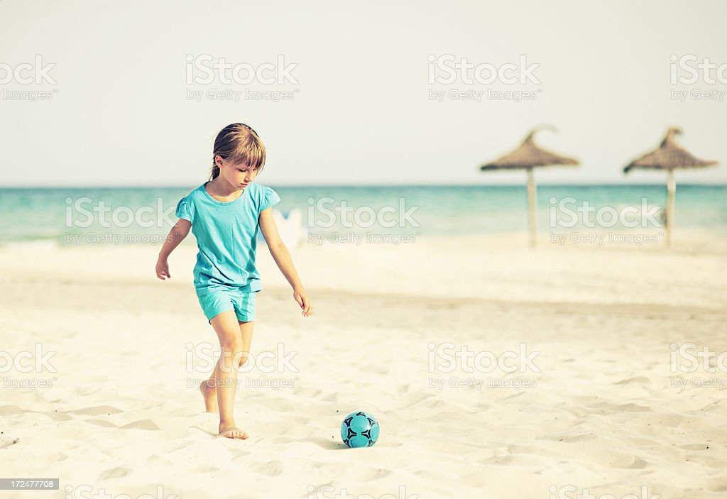Last day of vacations royalty-free stock photo