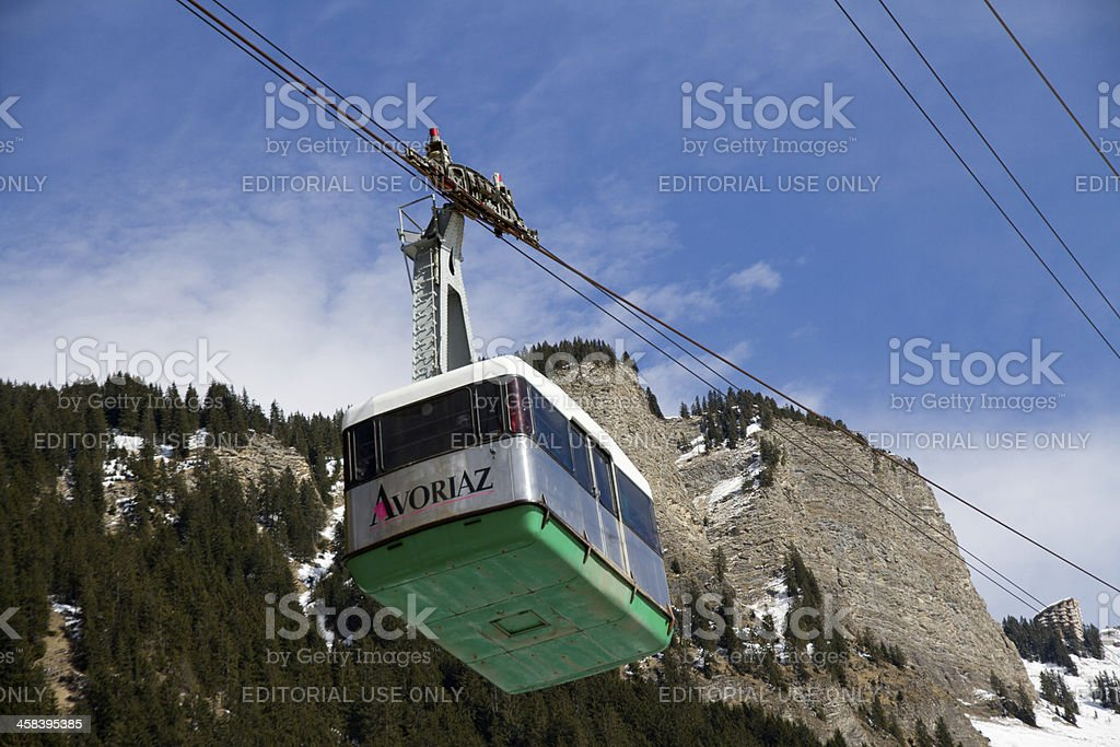 Last days for cable car royalty-free stock photo