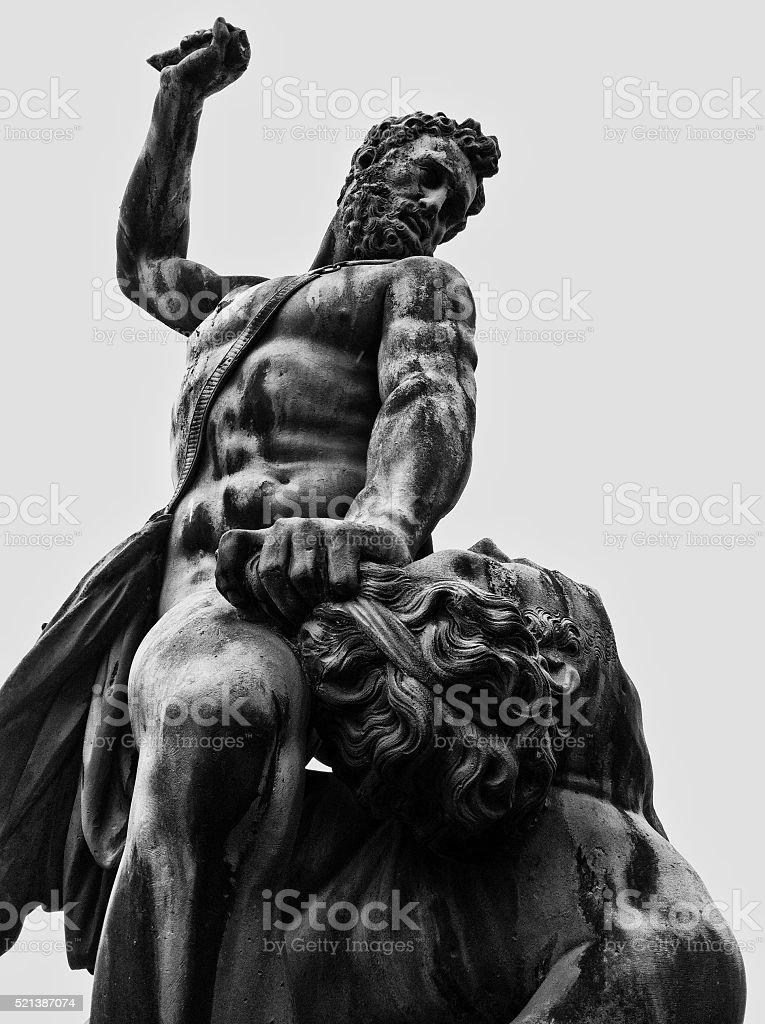 Last days of the Gladiator stock photo