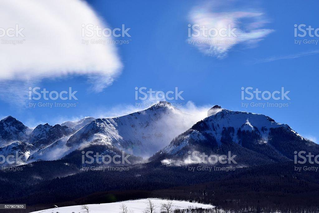 Last Dollar Mountain stock photo