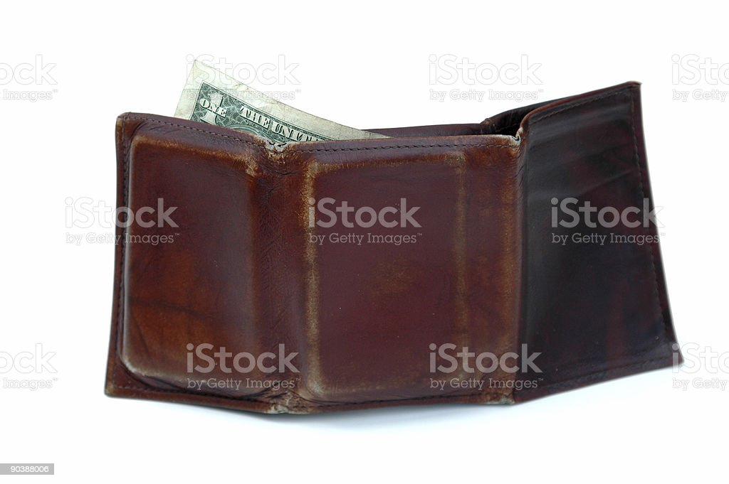 last dollar royalty-free stock photo