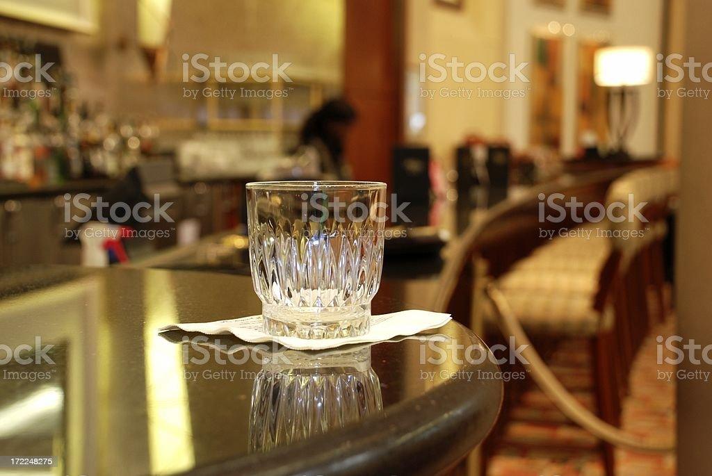 Last Drink stock photo