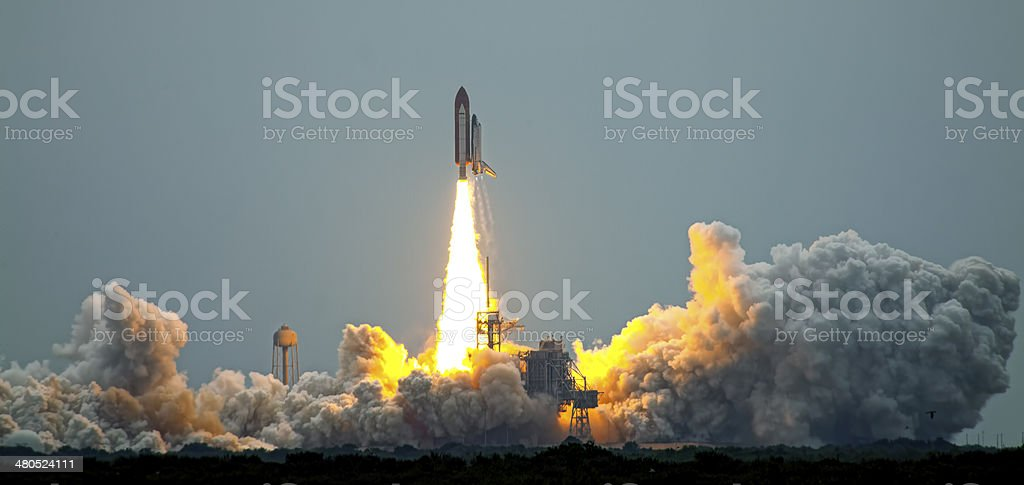 Last Launch STS-135 stock photo