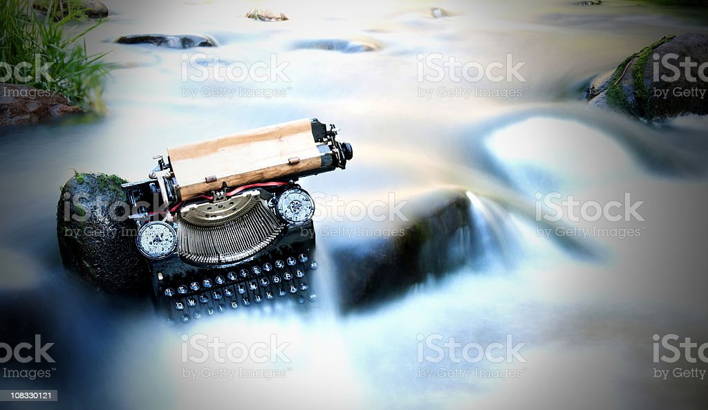 last letter royalty-free stock photo