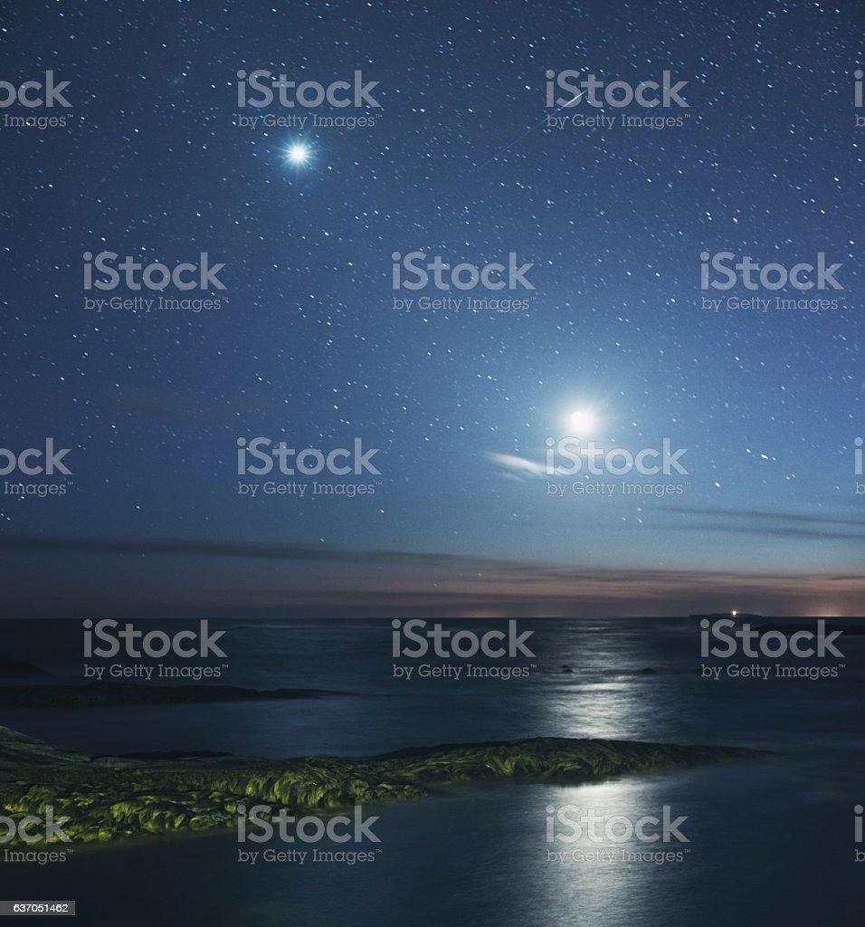 Last Light stock photo
