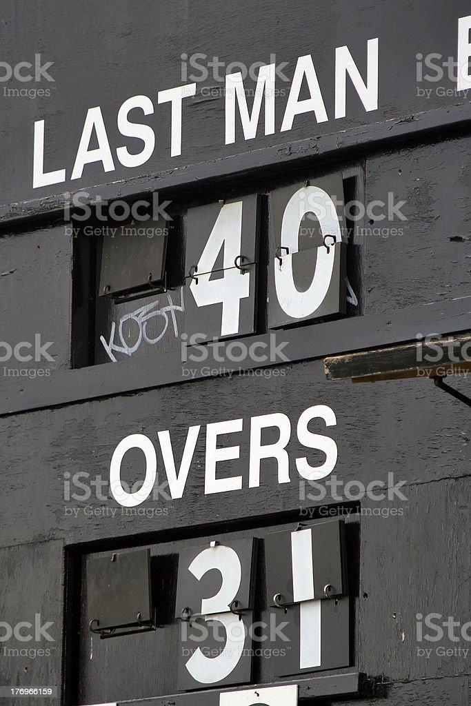 Last Man 40 royalty-free stock photo