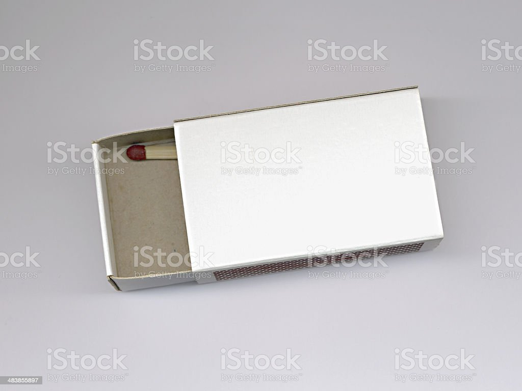 Last Match in Box royalty-free stock photo