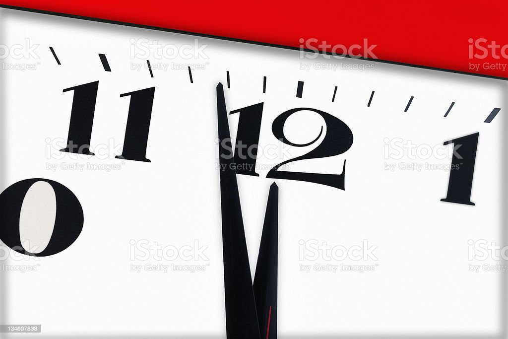 Last Minute and Countdown stock photo