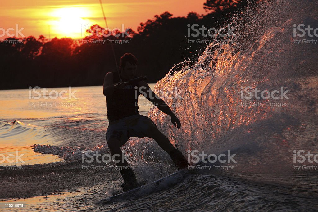 Last Ride of the Day royalty-free stock photo