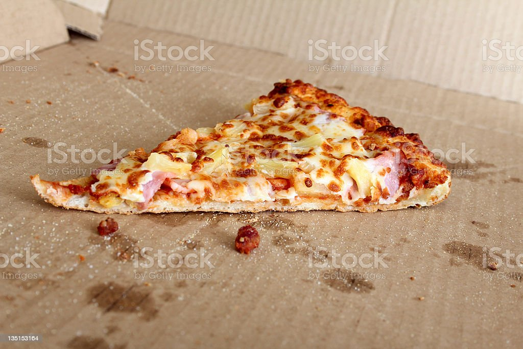 Last slice royalty-free stock photo