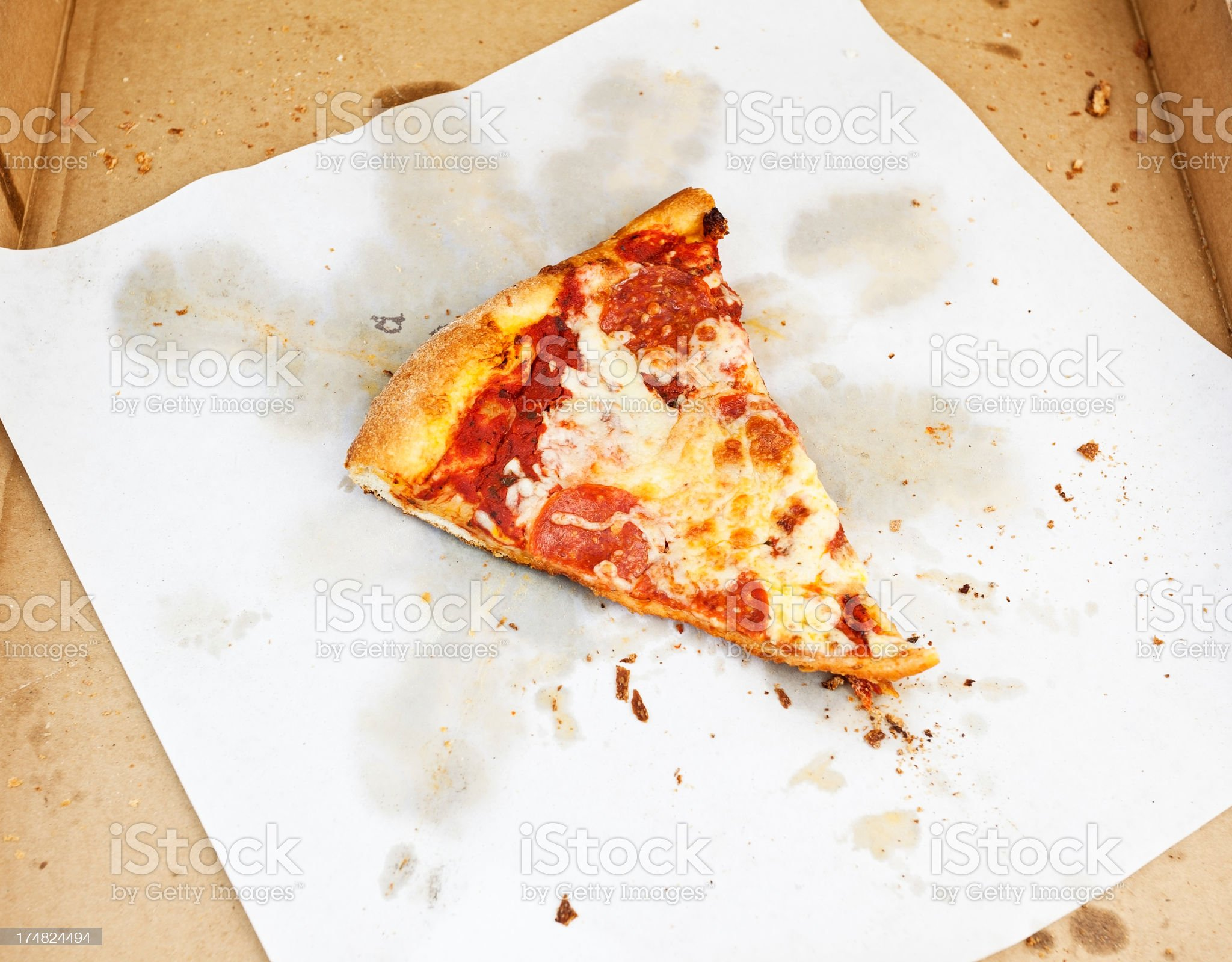 Last Slice royalty-free stock photo