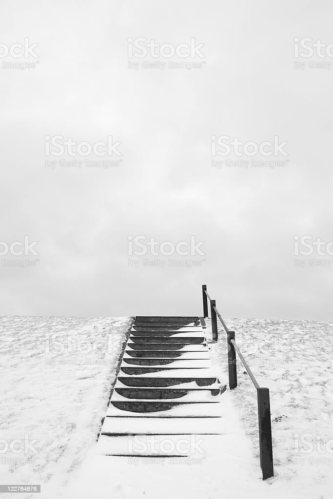 Last Steps royalty-free stock photo