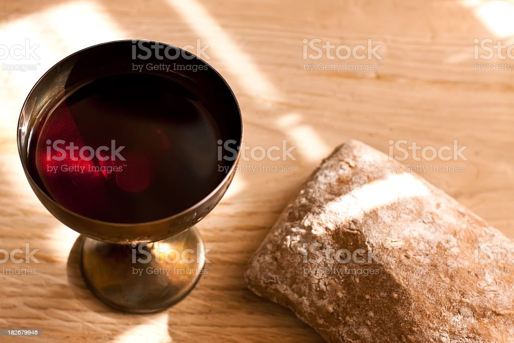 Last supper stock photo