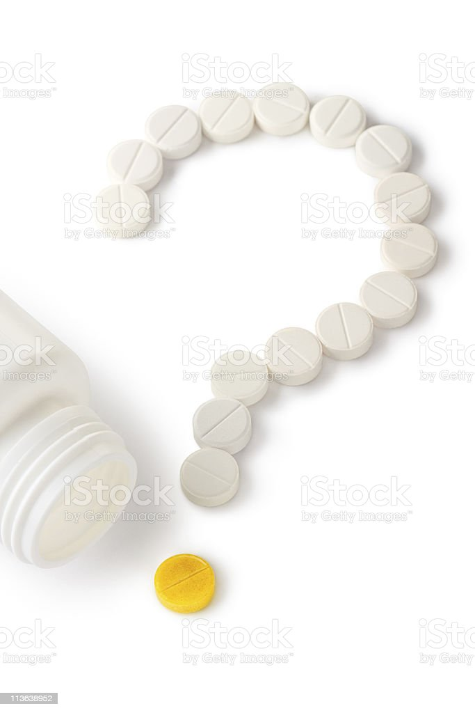 Last Tablet? Medical concept. royalty-free stock photo