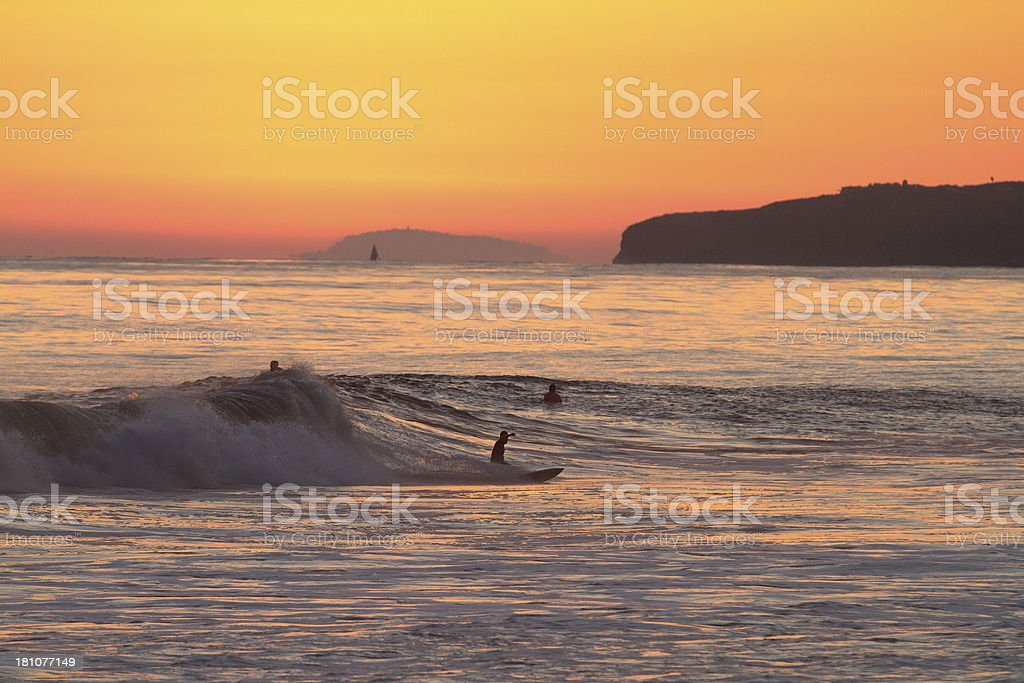 Last Wave royalty-free stock photo