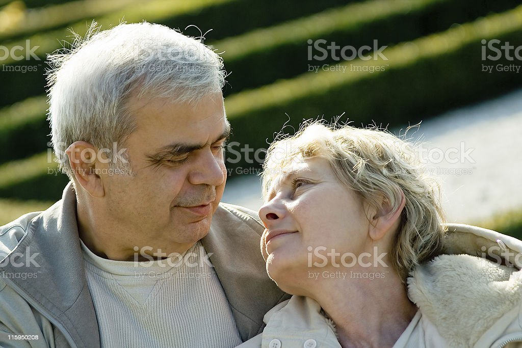 Lasting affection royalty-free stock photo