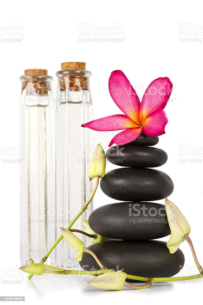 Lastones for massage therapy royalty-free stock photo