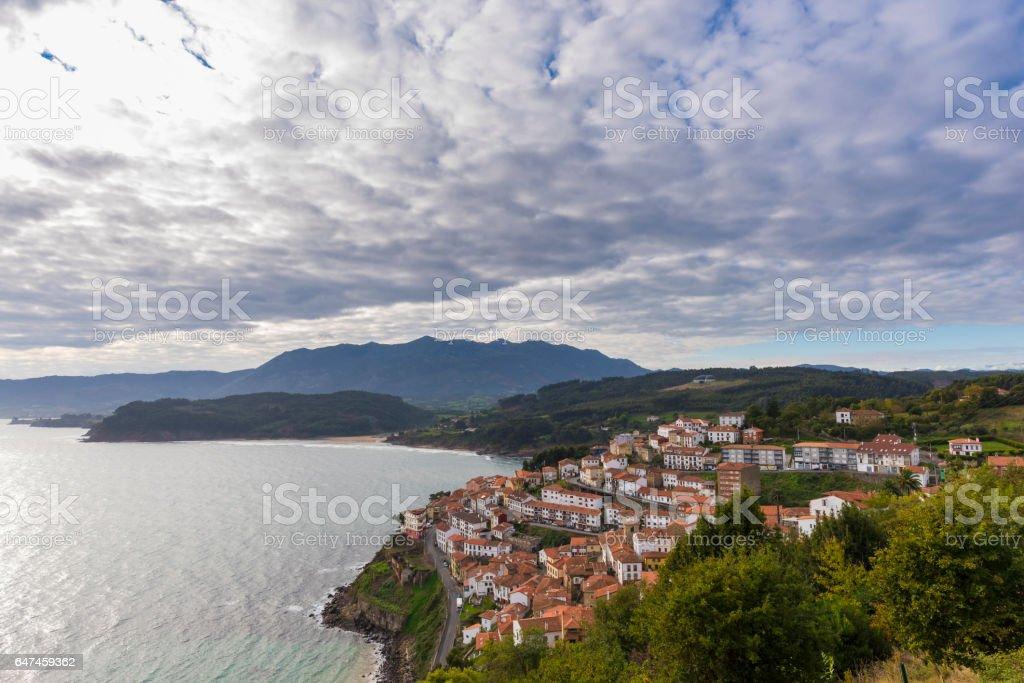 Lastres (Asturias, Spain). stock photo