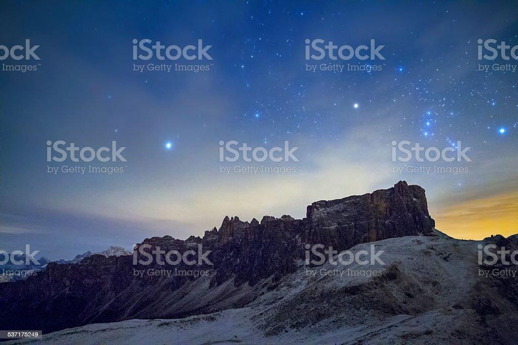 Lastroi de Formin e Orione stock photo