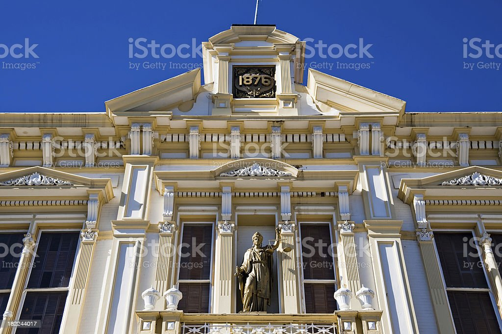 Late 1800 Courthouse stock photo