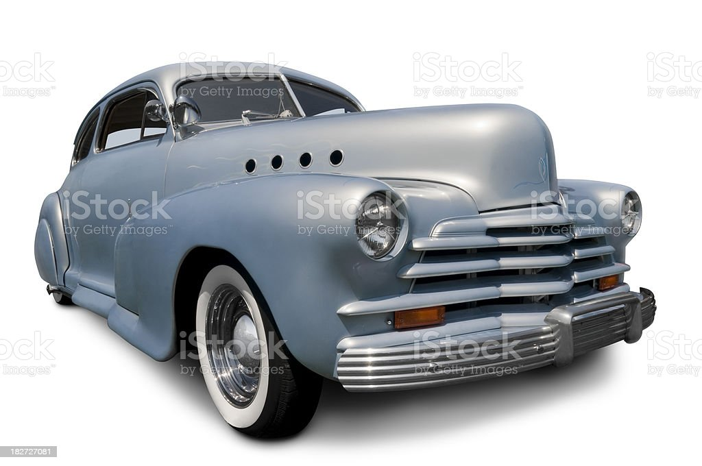 Late 1940's Automobile stock photo
