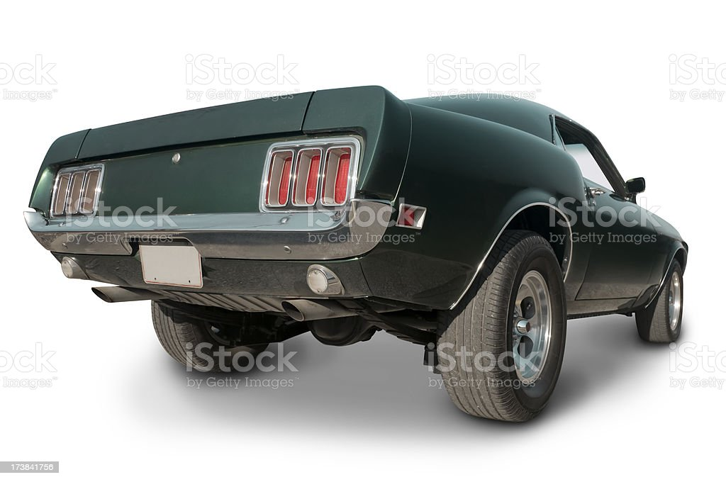 Late 1960's Mustang Muscle Car royalty-free stock photo