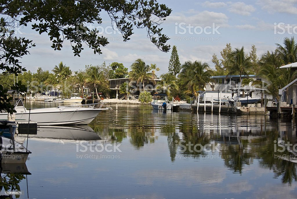 Late Afternoon Lagoon royalty-free stock photo