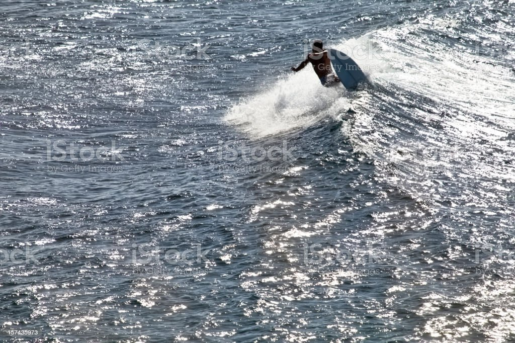 Late Afternoon Surf stock photo