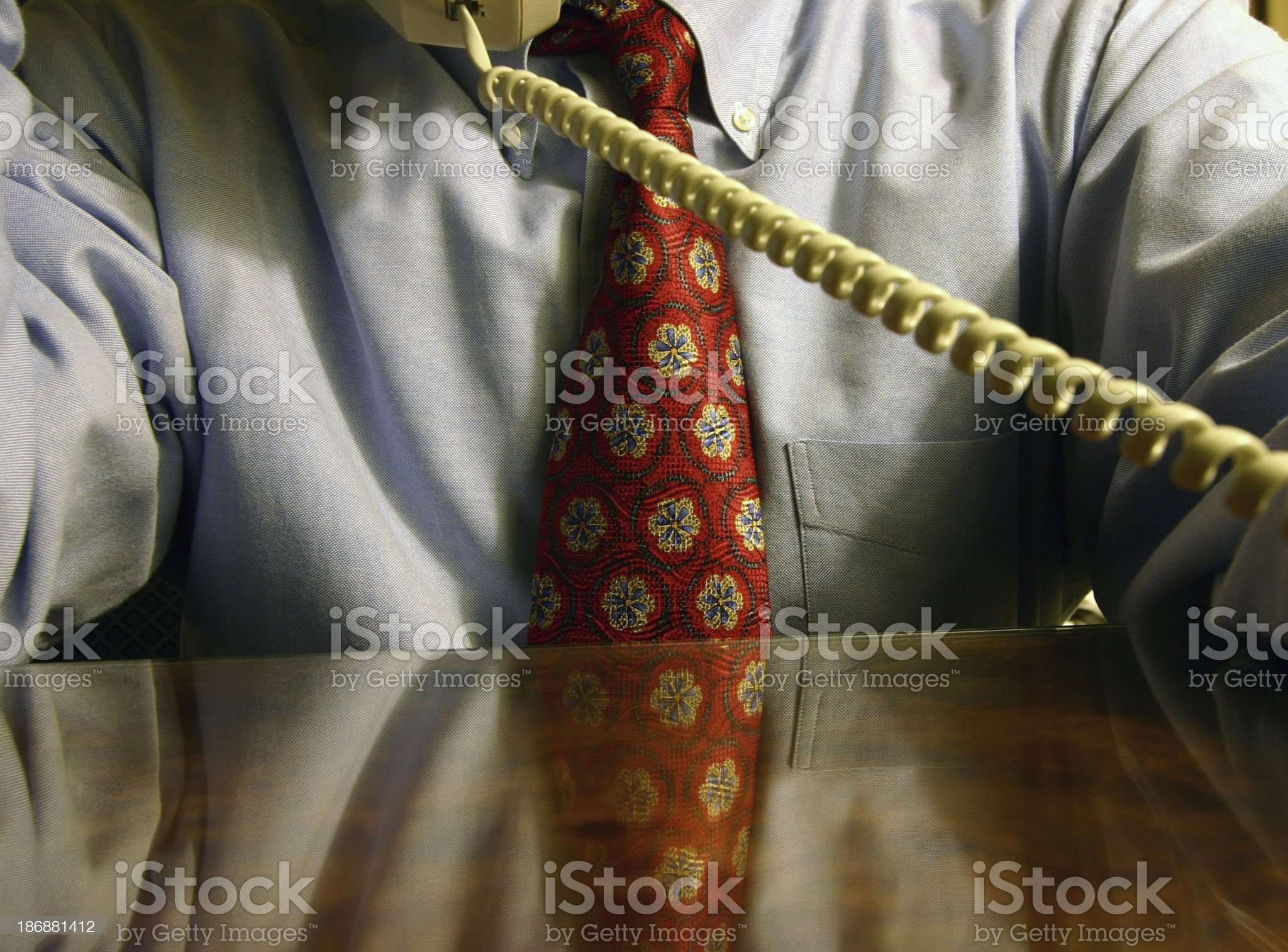 Late Call royalty-free stock photo