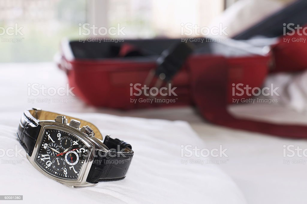 Late check-out stock photo