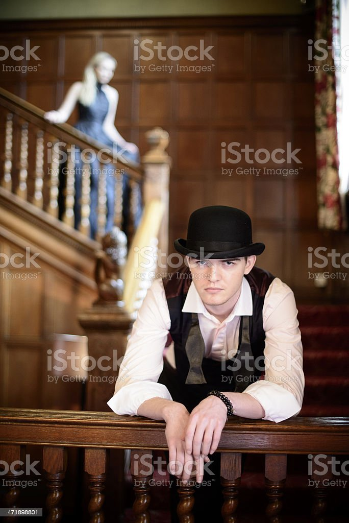 Late for the Ball royalty-free stock photo