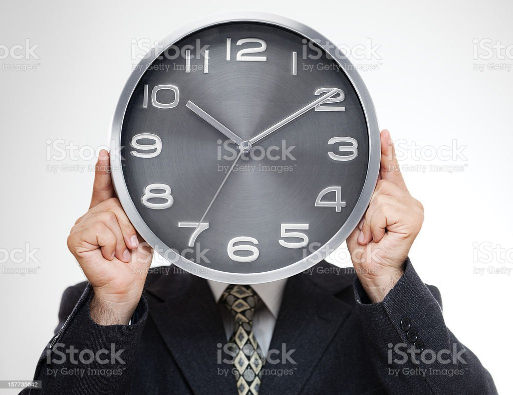 Late for Work ! royalty-free stock photo