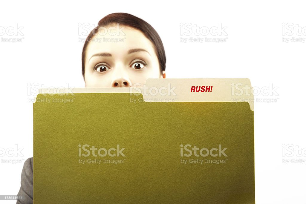 Late! royalty-free stock photo