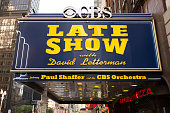2014 Late Show with David Letterman Marque