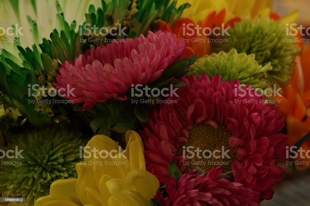 Late summer bouquet stock photo