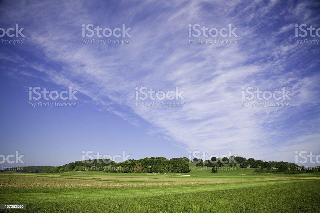 Late Summer Landscape royalty-free stock photo