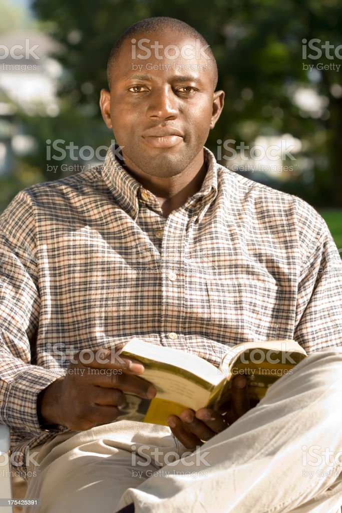 Late Summer Reading royalty-free stock photo