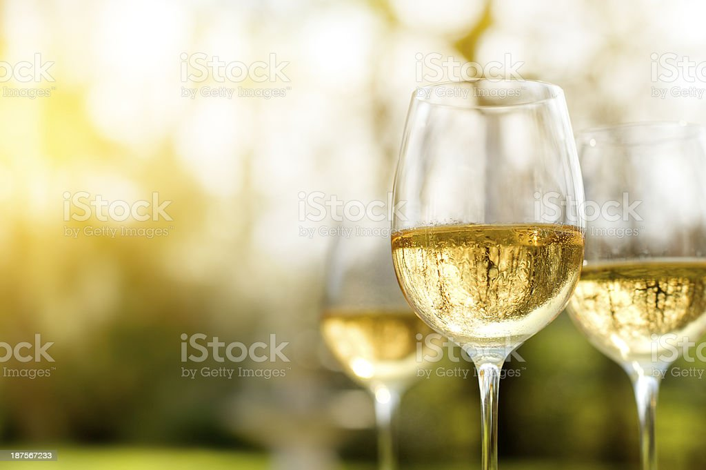 Late Summer Wine stock photo
