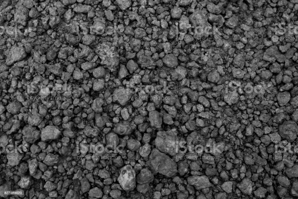 Laterite soil textured background. stock photo