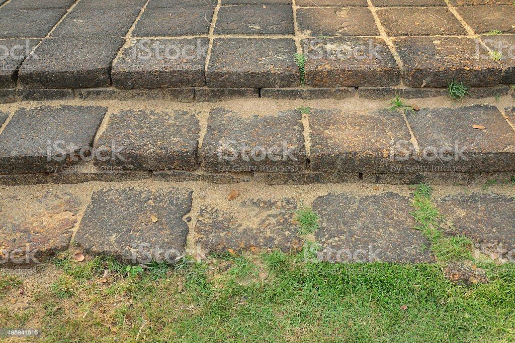 laterite stone floor royalty-free stock photo
