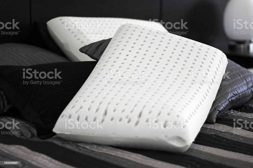 Latex pillows. stock photo
