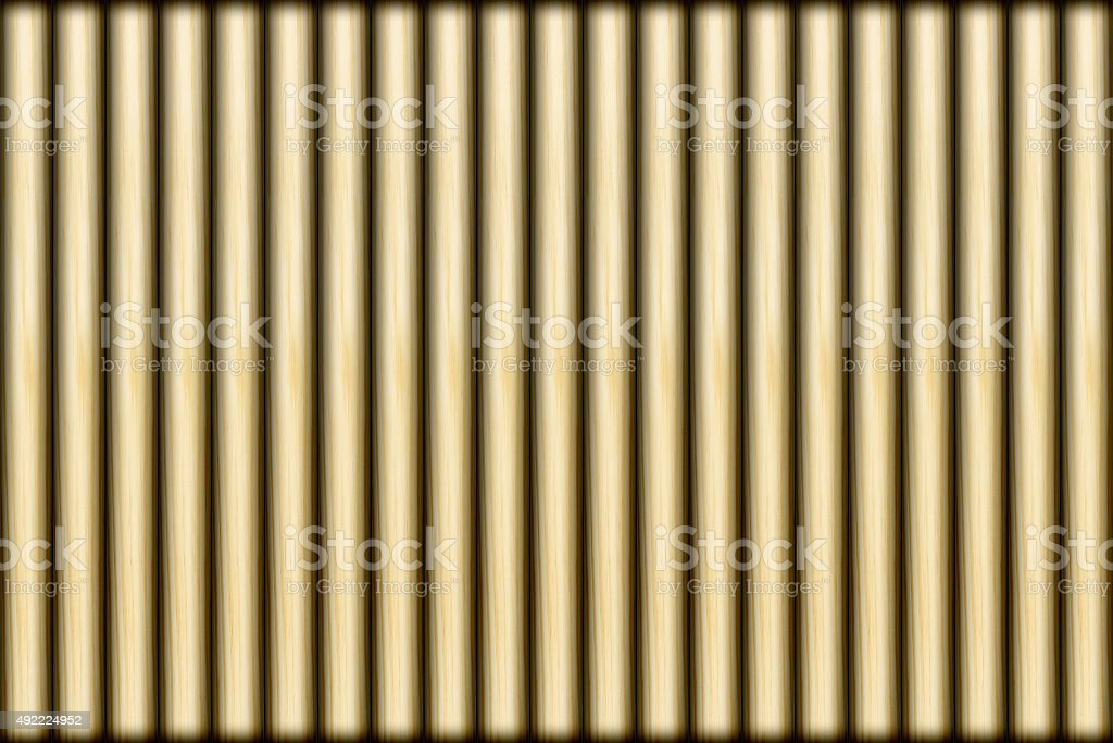 Lath with shadow for pattern and background stock photo